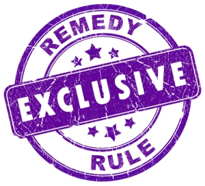 Exclusive-Remedy-Rule